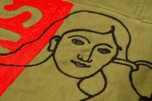 """Humans+Nature"" Embroidery Art Parka - 877 Workshop"
