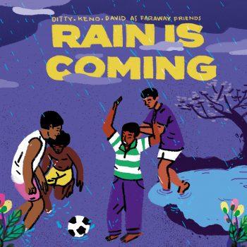 RAIN IS COMING Single Cover