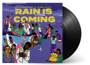 Rain Is Coming Vinyl Cover