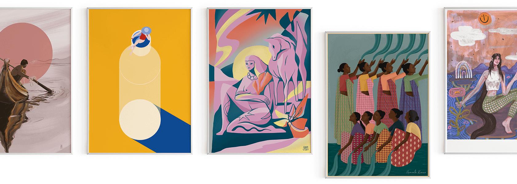 Fin Art Prints zum Album Release