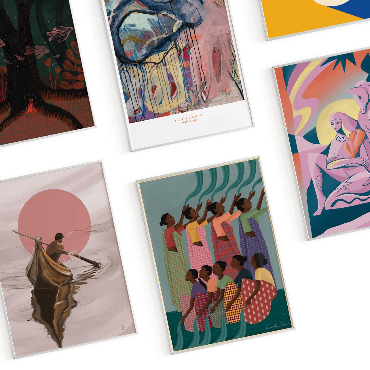 Faraway Friends Print Header