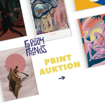 Faraway Friends Print Auktion